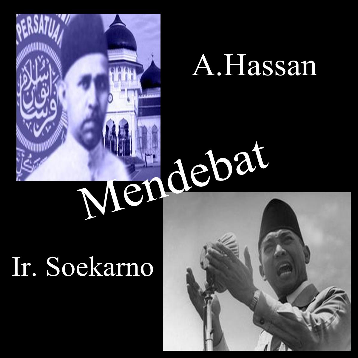 Hassan Mendebat Ir. Soekarno | Toko Buku Nurul Ilmu Online