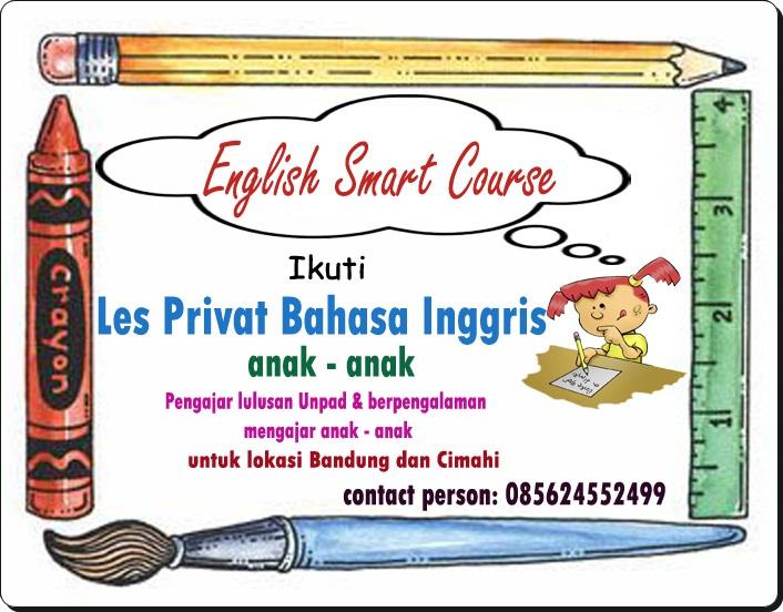 Les Privat Bahasa Inggris Anak Anak Bandung Rendy S Blog