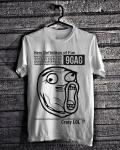 Code Barang : OGCL.4 | Nama Baju : Oceanseven 9gag Crazy LOL | Warna : White | Harga : Rp. 85.000